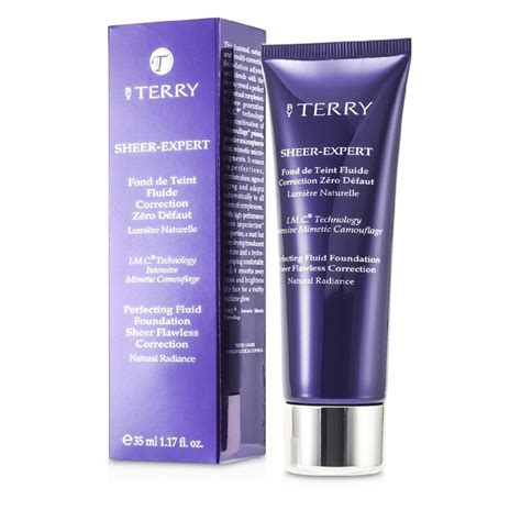by terry cover expert perfecting fluid foundation spf15 11 amber base liquida sheer expert perfecting fluid foundation