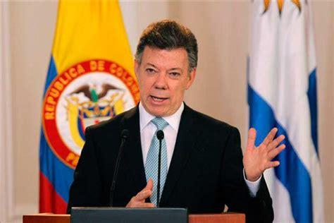 presidente de colombia 2016 gobierno de colombia dispuesto a cese al fuego con el eln