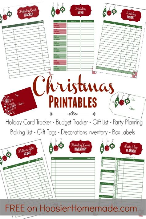 printable christmas sign up sheet 12 days to an organized hoosier