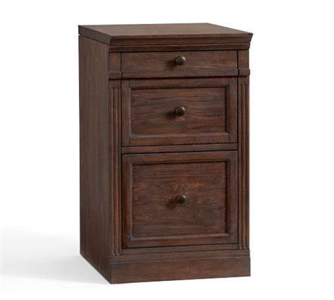 Single Drawer Lateral File Cabinet Livingston Single 2 Drawer Lateral File Cabinet With Top Brown Pottery Barn