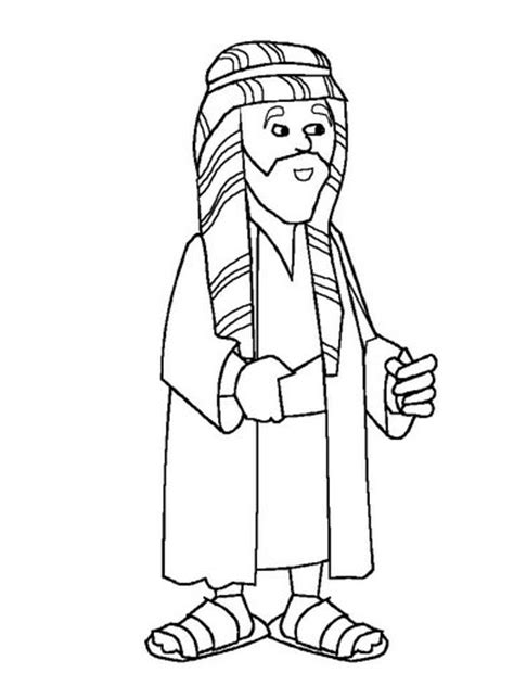 coloring pictures of joseph in egypt joseph in jail coloring sheet sketch coloring page