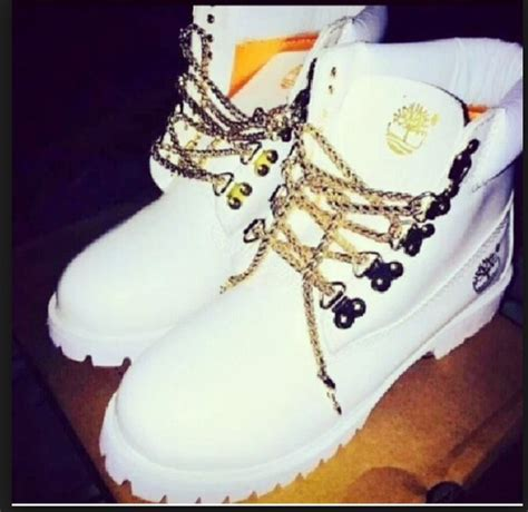 white and gold timberland boots cheap s timberlands 6 inch gold chain boots white gold