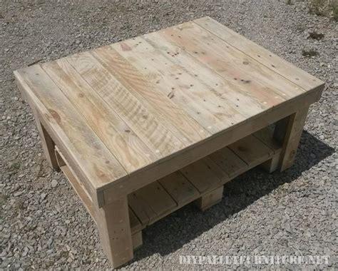 table basse avec palettes 2meuble en palette meuble en