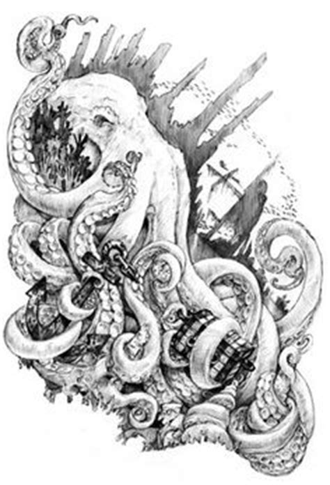 kraken tattoo - Google Search | tattoos | Pinterest | Best
