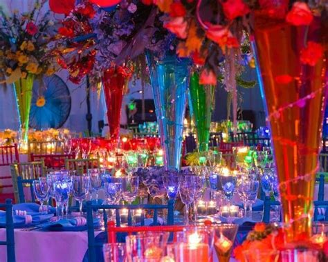 rainbow themed wedding decorations candyland centerpieces candyland theme