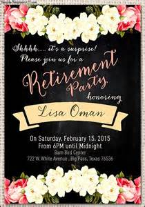 Retirement Invitation Templates by Retirement Invitation Template Gangcraft Net
