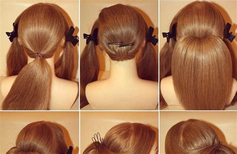hairstyles for long hair how to make elegant chignon for long hair beauty zone