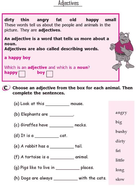 all worksheets 187 grammar for class 1 worksheets