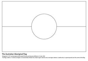Aboriginal Templates Printable by Australian Aboriginal Flag Coloring Page Free Printable