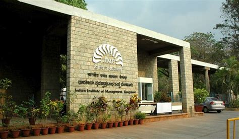 Iim Institute For Mba by Indian Institute Of Management Iim Bangalore