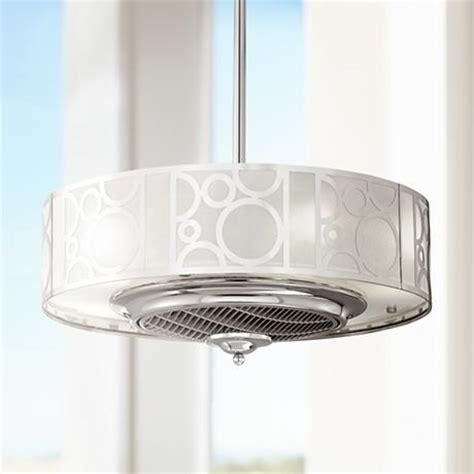 drum light ceiling fan 24 quot casa vieja chrome drum ceiling fan 6p005 ls plus
