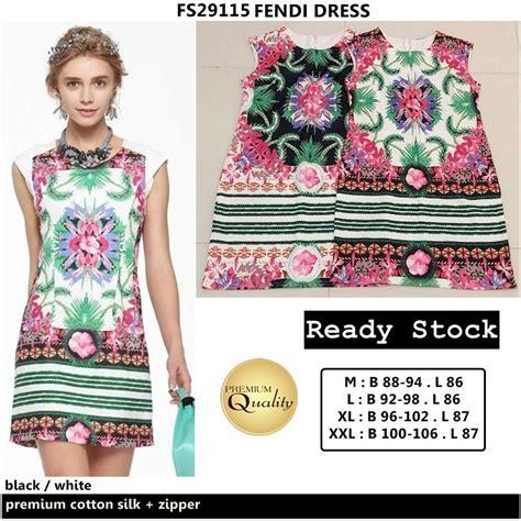 Harga Baju Fendi fendi dress supplier baju bangkok korea dan hongkong