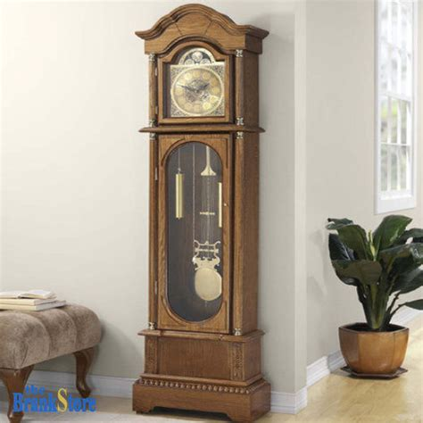 home decor clocks jenlea antique grandfather clock vintage ridgeway