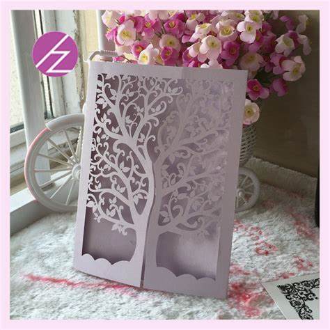 Paper Craft Decoration Home - 12pcs lot wedding decoration paper craft laser cut