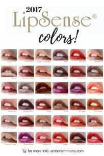 lipsense color chart new 2017 lipsense color chart
