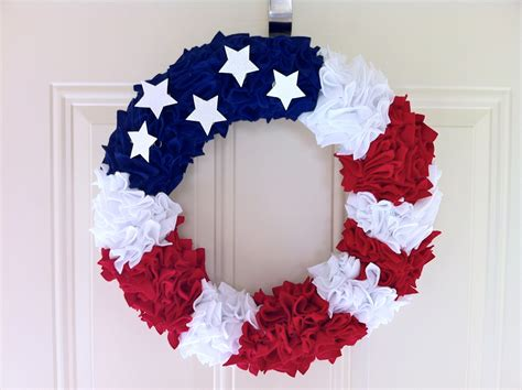 diy wreath 8 ideas of fourth of july wreath by diy homesfeed