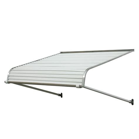 awning home depot nuimage awnings 3 ft 1100 series door canopy aluminum