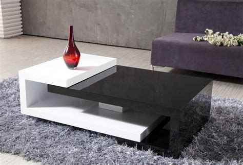 modern coffee table unique design and features
