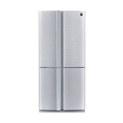 Kulkas Electrolux Side By Side harga sharp sj f90pm sl steel silver kulkas side by