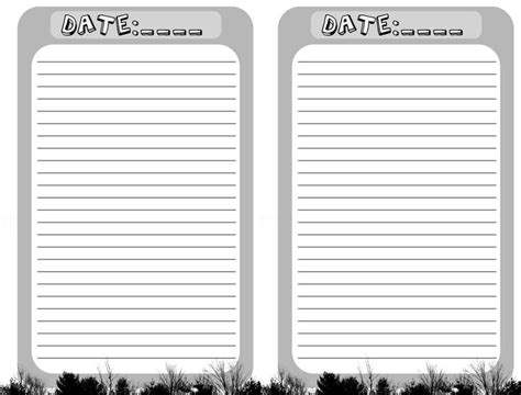 free blank printable journal pages 1000 ideas about journal pages printable on pinterest