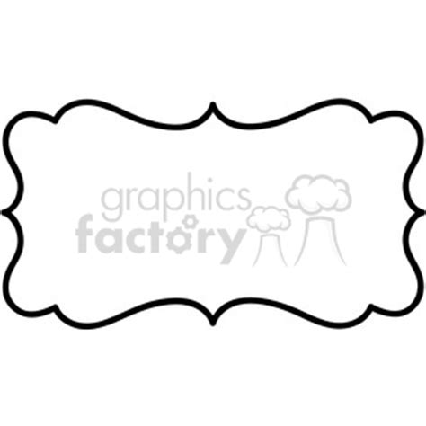 royalty free lines frame swirls boutique sign design