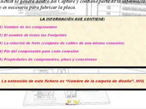 orcad layout youtube curso orcad parte 20 generar la netlist en orcad layout