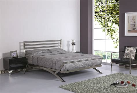 stainless steel bedroom furniture luxury bed stainless steel metal bed iron bed bedroom