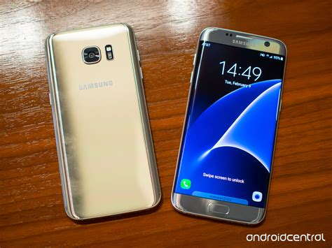 Samsung S7 Edge Samsung Galaxy S7 And S7 Edge In Pictures Android Central