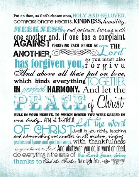 Wedding Bible Verses Colossians by 75 Best Colossians 3 12 15 Images On