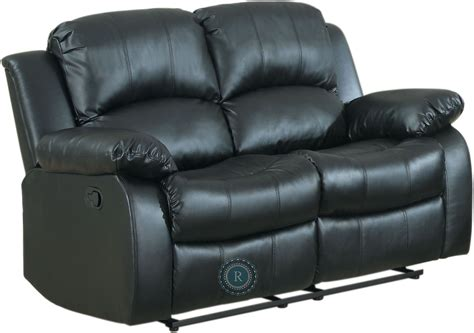 black power reclining sofa cranley black power double reclining loveseat from