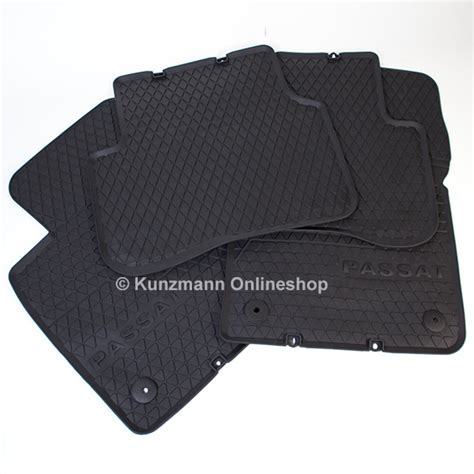 Passat Mats by Volkswagen Car Rubber Floor Mats Vw Passat 3c Original Black