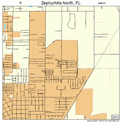 map of zephyrhills florida area zephyrhills florida map 1279231