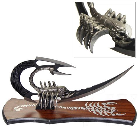 punch blade scorpion stinger punch blade dagger