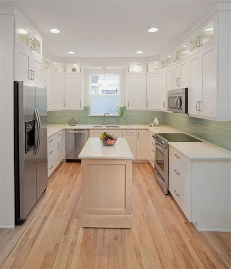 White Galley Kitchen Designs Enchanting Design For Kitchen Appliance Trend Decorating