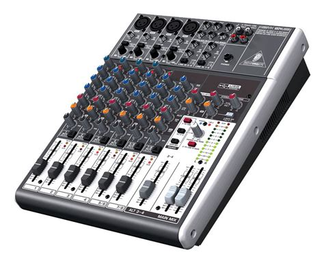 Mixer Behringer 12 Ch behringer xenyx 1204usb 12 channel mixer zzounds
