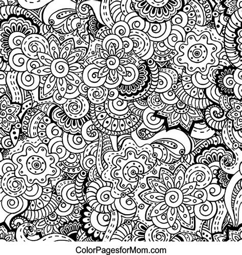 doodle coloring pages for adults doodles 12 advanced coloring page