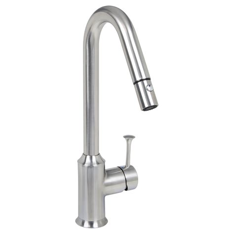kitchen faucets pull down pekoe 1 handle pull down high flow kitchen faucet