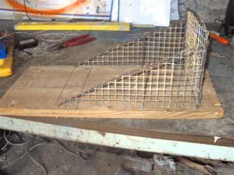 come costruire una gabbia trappola per uccelli costruire una trappola per topi wmv