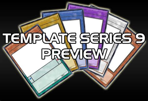 yugioh card proxy template template series 9 preview by grezar on deviantart