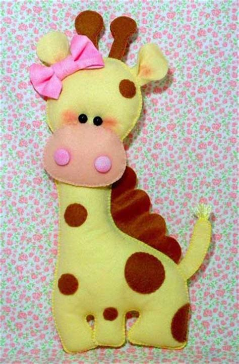 imagenes de jirafas para hacer en foami moldes para hacer jirafas de fieltro