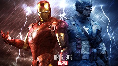 captain america vs wallpaper iron man vs captain america wallpaper by justtutorialz on