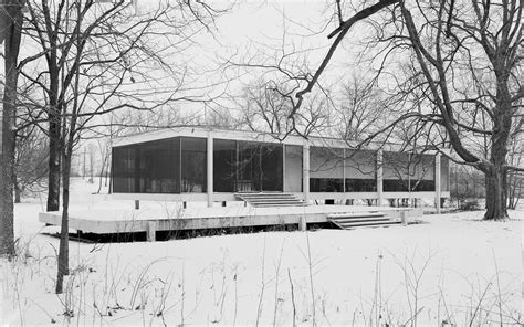 Farnsworth House by Modern Home Architecture Wallpaper Cool Hd I Hd Images