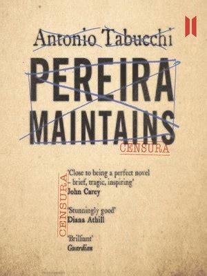 pereira maintains canons pereira maintains by antonio tabucchi 183 overdrive rakuten overdrive ebooks audiobooks and