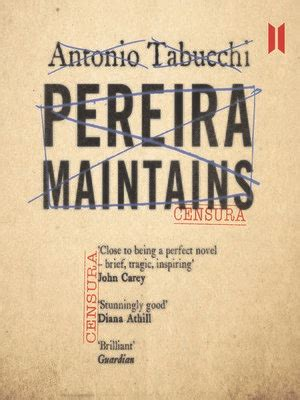libro pereira maintains canons pereira maintains by antonio tabucchi 183 overdrive rakuten overdrive ebooks audiobooks and