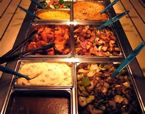 buffet items ideas bar entree selection