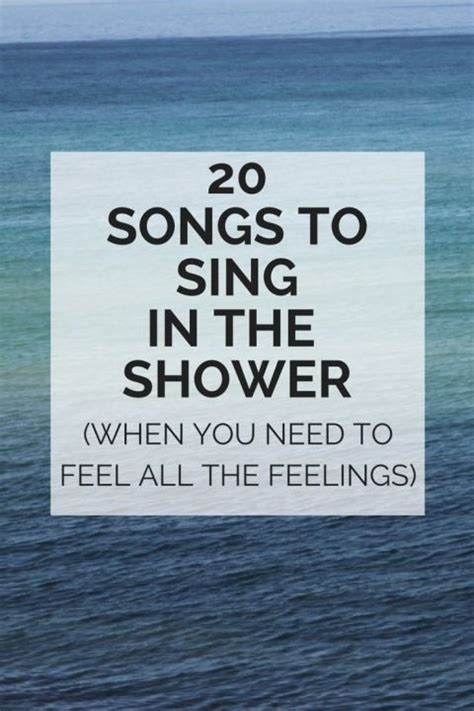 Sing As You Shower by Because Sometimes All You Need To Do Is Sing Really Loud