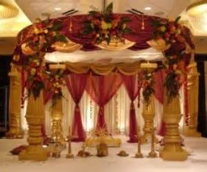 Wedding Mandaps Indian Wedding Decorations Ideas4