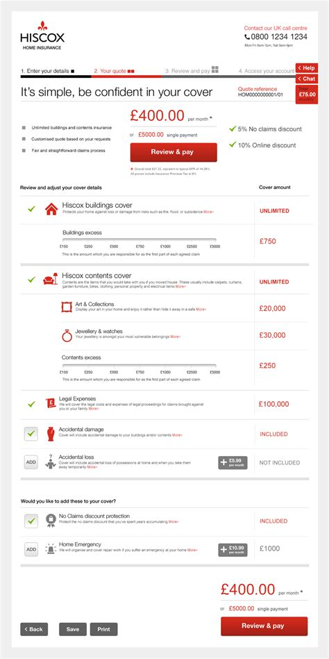 hiscox house insurance hiscox house insurance home insurance quote buy journey heavylight design