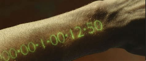 IN TIME Review | Collider In Time Movie Clock
