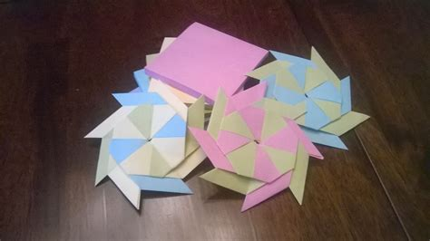 How To Make Origami With Sticky Notes - post it note origami tutorial origami handmade